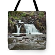 Lower Red Rocks Falls Tote Bag by Jemmy Archer