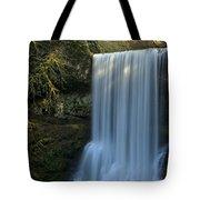Lower South Falls Closeup Tote Bag