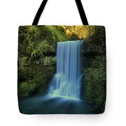 Lower South Falls Landscape Tote Bag