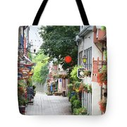 Lower Town Tote Bag