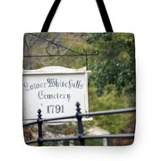 Lower White Hills Cemetery Tote Bag