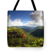 Lower Wiamea View Tote Bag
