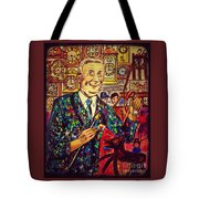 Lowry's Painting Suit Vintage Tote Bag