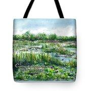 Loxahatchee Marsh 1 Peter 5 Tote Bag