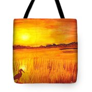 Loxahatchee Sunrise Tote Bag