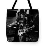 Ls #45 Crop 3 Enhanced Bw Tote Bag