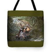 Lu The Homosassa Hippo Tote Bag