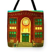 Lubavitch Synagogue Tote Bag