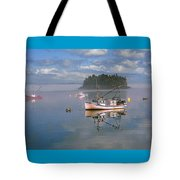 Lubec Waterfront Tote Bag
