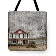 Lucas House Tote Bag