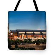 Lucas Oil Stadium Tote Bag