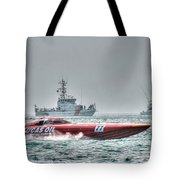 Lucas Oil Superboat Race Tote Bag