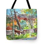 Lucca In Italy 04 Tote Bag by Miki De Goodaboom
