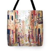 Lucca Street Tote Bag