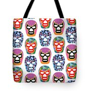 Lucha Libre Masks Tote Bag