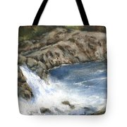 Lucia Falls Summer Tote Bag