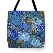 Lucia's Flowers Tote Bag