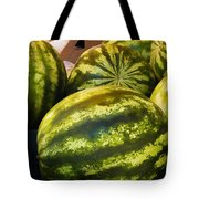 Lucious Watermelon Tote Bag