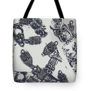 Lucky Charms Of Wise Old Owls Tote Bag