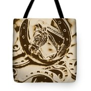 Lucky Cowboys Charm Tote Bag