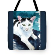 Lucky Elvis - Cat Portrait Tote Bag