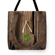 Lucky Horseshoe Tote Bag by Garry Gay