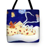 Lucky Lady Bug Shoe Tote Bag