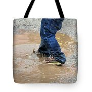 Lucky Puddle  Tote Bag