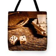 Lucky - Sepia Tote Bag