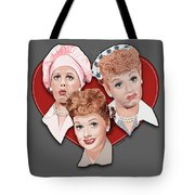 Lucy Expressions Gry Tote Bag