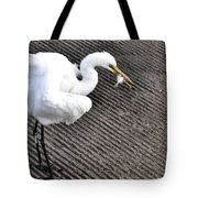 Lucy Having Lunch Tote Bag