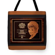 Lucy Sca Plaque  Tote Bag