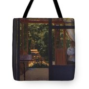 Ludmila In The Garden Chernomor On The Subject Of The Poem Of Pushkins Ruslan And Lyudmila 1897 Konstantin Andreevich 1869-1939 Somov Tote Bag
