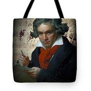Ludwig Van Beethoven 1820 Tote Bag