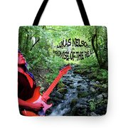 Lukas By The Creek 2 Tote Bag