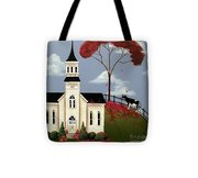 Lulabelle Goes To Church Tote Bag