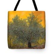 L'ulivo Tra Le Vigne Tote Bag by Guido Borelli