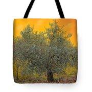 L'ulivo Tra Le Vigne Tote Bag