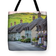 Lulworth Cottages Tote Bag