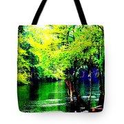 Lumber River II Tote Bag
