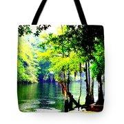 Lumber River Tote Bag
