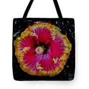 Luminous Bloom Tote Bag