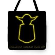 Luminous Yoda Tote Bag