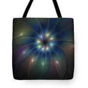 Luminous Fractal Art Tote Bag