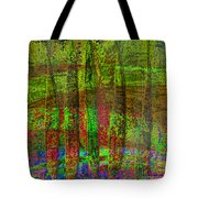 Luminous Landscape Abstract Tote Bag