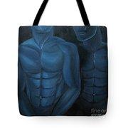 Luna Azul Tote Bag