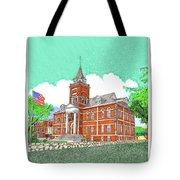 Luna County Court House  Deming  N M   Tote Bag