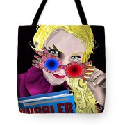 Luna Tote Bag by Lisa Leeman