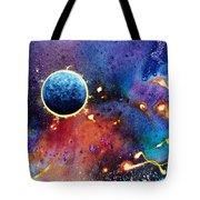 Luna Violet Tote Bag
