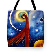 Lunar Angel Tote Bag